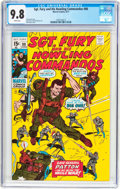 Bronze Age (1970-1979):War, Sgt. Fury and His Howling Commandos #88 (Marvel, 1971) CGC NM/MT 9.8 White pages....