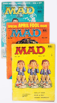 MAD Magazine Group of 29 (EC, 1957-84) Condition: Average GD.... (Total: 29 Comic Books)
