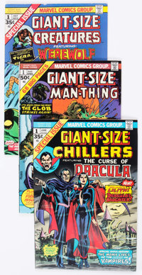 Marvel Giant-Size Horror Comics Group of 18 (Marvel, 1974-75) Condition: Average VF-.... (Total: 18 Comic Books)