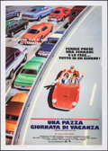 "Movie Posters:Comedy, Ferris Bueller's Day Off (Paramount, 1986). Italian 2 - Fogli(39.25"" X 55.25""). Comedy.. ..."