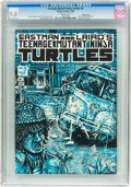 Modern Age (1980-Present):Alternative/Underground, Teenage Mutant Ninja Turtles #3 Double Cover (Mirage Studios, 1985) CGC NM/MT 9.8 White pages....