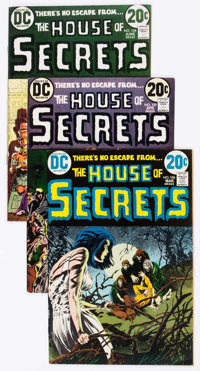 House of Secrets #106-120 Group (DC, 1973-74) Condition: Average VF-.... (Total: 15 Comic Books)