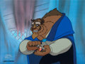 Animation Art:Production Cel, Belle's Magical World Beast Production Cel (Walt Disney,1998). ...