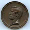 Civil War Tokens, 1861 Adam J. Slemmer, Fort Pickens Defended Medal MS63 Uncertified.Copper electrotype, 64mm. Dies by Müller. Housed in the ...