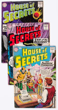 Silver Age (1956-1969):Horror, House of Secrets Group of 21 (DC, 1958-66) Condition: AverageVG.... (Total: 21 Comic Books)