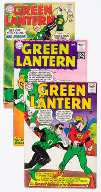 Green Lantern Group of 8 (DC, 1962-72) Condition: Average VG.... (Total: 8 Comic Books)