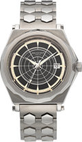 "Timepieces:Wristwatch, Amundsen Oslo ""The Polar Timepiece"" North Pole Edition Stainless Steel Limited Edition Wristwatch No. 049/250. ..."