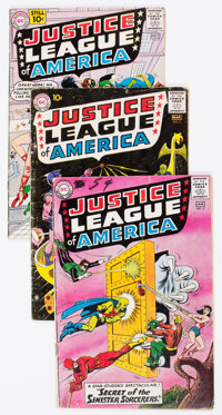 Justice League of America Group of 9 (DC, 1961-64) Condition: Average GD.... (Total: 9 Comic Books)