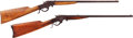 Long Guns:Single Shot, Lot of Two J. Stevens Single Shot Rifles.... (Total: 2 Items)