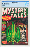 Golden Age (1938-1955):Horror, Mystery Tales #3 (Atlas, 1952) CBCS FN+ 6.5 Cream to off-whitepages....