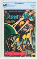Golden Age (1938-1955):War, Our Army at War #11 (DC, 1953) CBCS FN 6.0 Off-white to whitepages....