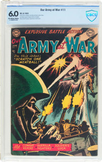 Our Army at War #11 (DC, 1953) CBCS FN 6.0 Off-white to white pages