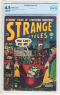 Golden Age (1938-1955):Horror, Strange Tales #16 (Atlas, 1953) CBCS VG+ 4.5 Off-white to whitepages....