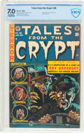 Golden Age (1938-1955):Horror, Tales From the Crypt #36 (EC, 1953) CBCS FN/VF 7.0 Off-whitepages....