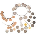 Estate Jewelry:Other, Victorian Gold, Silver, Copper, Jewelry . ... (Total: 20 Items)