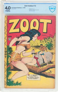Zoot Comics #12 (Fox Features Syndicate, 1948) CBCS VG 4.0 Off-white pages