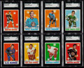 Hockey Cards:Lots, 1970 Topps Hockey Card Collection (52) With NM/MT Orr. ...