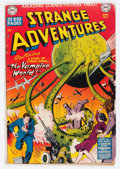 Golden Age (1938-1955):Science Fiction, Strange Adventures #6 (DC, 1951) Condition: VG....