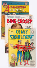 Golden Age (1938-1955):Miscellaneous, DC Golden Age Comics Group of 5 (DC, 1940s-50s) Condition: Average GD.... (Total: 5 Comic Books)