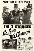 "Movie Posters:Comedy, So Long Mr. Chumps (Columbia, 1941). One Sheet (27"" X 41"").. ..."