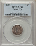 Bust Dimes, 1823/2 10C Small Es XF40 PCGS. PCGS Population: (7/59). NGC Census:(4/71). CDN: $650 Whsle. Bid for problem-free NGC/PCGS ...
