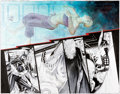 Original Comic Art:Illustrations, J.H. Williams III Detective Comics #857 Double Page Spread 14 and 15 Original Art (DC, 2009)....