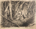 Animation Art:Concept Art, Snow White and the Seven Dwarfs Concept Drawing by FerdinandHorvath (Walt Disney, 1937)....