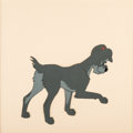 Animation Art:Production Cel, Lady and the Tramp Production Cel (Walt Disney, 1955). ...