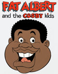 Animation Art:Presentation Cel, Fat Albert and the Cosby Kids Publicity Cel (Filmation,1983) ...