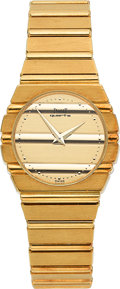 Timepieces:Wristwatch, Piaget Polo 18K Gold Lady's Bracelet Watch Ref. 761C701. ...