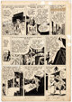 Jerry Robinson and George Roussos Green Hornet #29 Page 6 Original Art (Family Comics, 1946)