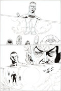 Original Comic Art:Panel Pages, Ethan Van Sciver Sinestro #7 Page 15 Original Art (DC,2015)....