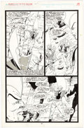 Original Comic Art:Panel Pages, Jim Valentino and Steve Montano Guardians of the Galaxy #5Page 19 Original Art (Marvel, 1990)....