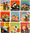 Big Little Book:Miscellaneous, Big Little Book Hollywood Movies Group of 9 (Whitman,1930s-40s).... (Total: 9 Comic Books)