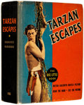 Platinum Age (1897-1937):Miscellaneous, Big Little Book #1182 Tarzan Escapes (Whitman, 1936) Condition:VF....