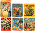 Big Little Book:Miscellaneous, Big Little Book Buck Rogers/Sci-Fi Group of 6 (Whitman,1930s-40s).... (Total: 6 Comic Books)