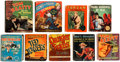 Big Little Book:Miscellaneous, Big Little Book Action/Adventure Group of 9 (Whitman,1930s-40s).... (Total: 9 Comic Books)