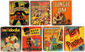 Big Little Book:Miscellaneous, Big Little Book Action Comics Group of 7 (Whitman, 1940s)....(Total: 7 Comic Books)