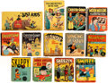 Big Little Book:Miscellaneous, Big Little Book Comic Character Group of 13 (Whitman,1930s-40s).... (Total: 13 Comic Books)