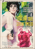 "Movie Posters:Crime, The Frightened City (Rank Film, 1962). Italian 4 - Fogli (54.75"" X76.5""). Crime.. ..."