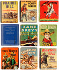 Big Little Book:Miscellaneous, Big Little Book Western Action Group of 9 (Whitman, 1940s)....(Total: 9 Comic Books)