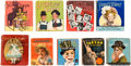 Big Little Book:Miscellaneous, Big Little Book Hollywood Stars Group of 9 (Whitman, 1930s-40s)....(Total: 9 Comic Books)