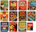 Big Little Book:Miscellaneous, Big Little Book Detective Group of 12 (Whitman, 1930s-40s)....(Total: 12 Comic Books)
