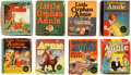 Big Little Book:Miscellaneous, Big Little Book Little Orphan Annie Group of 8 (Whitman,1930s-40s).... (Total: 8 Comic Books)