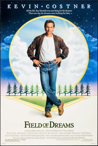 "Field of Dreams & Others Lot (Universal, 1989). One Sheets (2) (27"" X 4"") & Video One Sheet (2..."