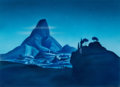Animation Art:Painted cel background, Fantasia/Walt Disney's Disneyland Painted Master Background(Walt Disney, 1958)....