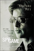 "Movie Posters:Action, Spy Game (Universal, 2001). One Sheets (3) (27"" X 40""). DS RegularStyle and Advance Brad Pitt and Robert Redford Styles. Ac...(Total: 3 Items)"