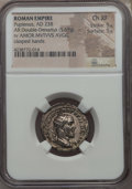 Ancients:Roman Imperial, Ancients: Pupienus (Apr.-July AD 238). AR antoninianus (5.69 gm).NGC Choice XF 5/5 - 5/5....