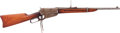 Long Guns:Lever Action, Winchester Model 1895 Lever Action Saddle Ring Carbine....