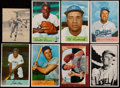 Baseball Cards:Lots, 1934 to 1955 Batter-Up and Bowman Collection (26). ...